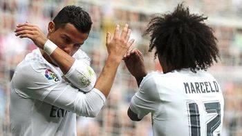 Cristiano con un triplete y Marcelo salvan al Madrid y le llevan a semifinales