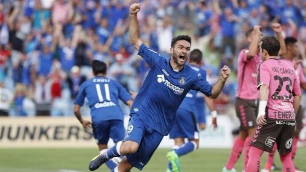 Un combativo Getafe regresa a Primera al golear al Tenerife