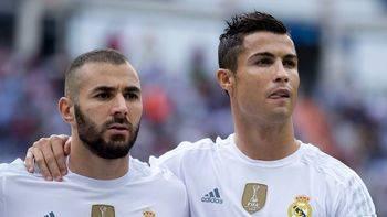 Cristiano y Benzema plomo en las piernas
