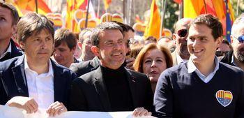 """Rivera, Valls y el """"lado oscuro"""" de Ciudadanos"""