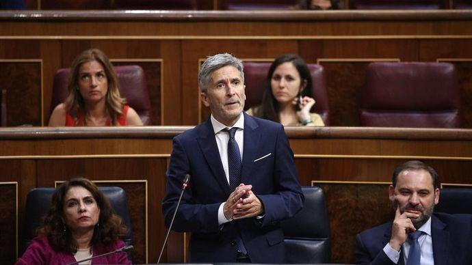 Marlaska: en unos días los presos irân a Cataluña