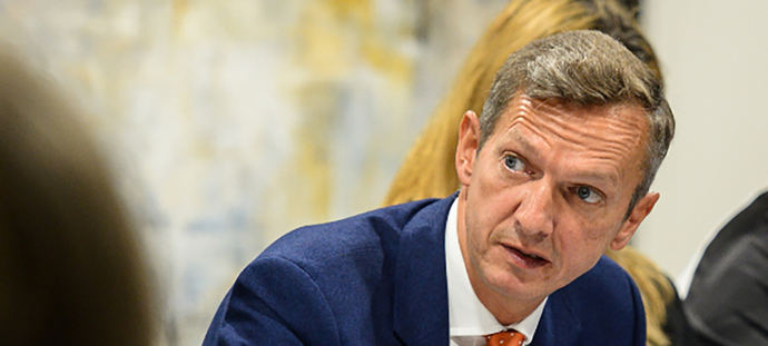 Andy Haldane, ex economista jefe del Banco de Inglaterra.