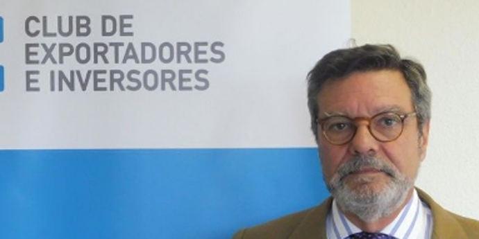 El presidente del Club de Exportadores, Antonio Bonet.