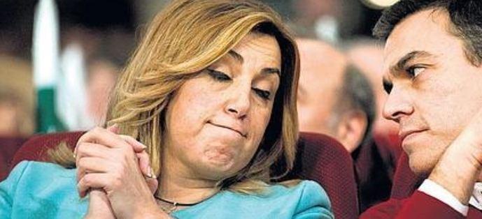 """Pedro Sánchez a Susana Díaz: """"Aquí mando yo"""""""