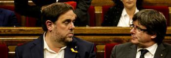 El independentismo catalán se parte por la mitad