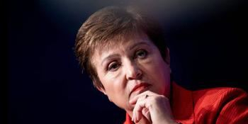 La presidenta del Fondo Monetario Internacional, Kristalina Georgieva.