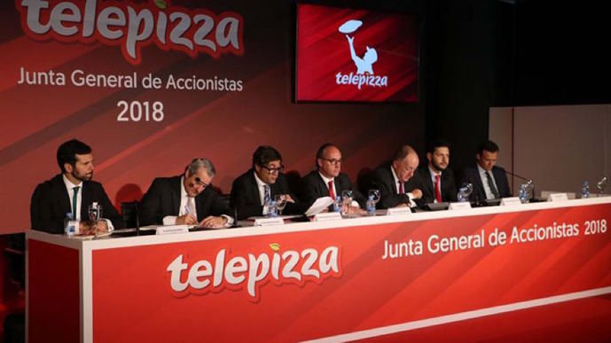 Telepizza abonará un dividendo bruto de 0,064 euros por acción