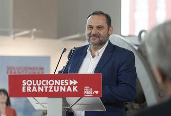 José Luis Abalos, ministro de Transportes y Agenda Urbana,. que incluye la Vivienda.
