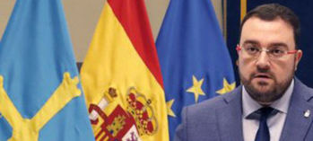 Adrián Barbón, presidente de Asturias.