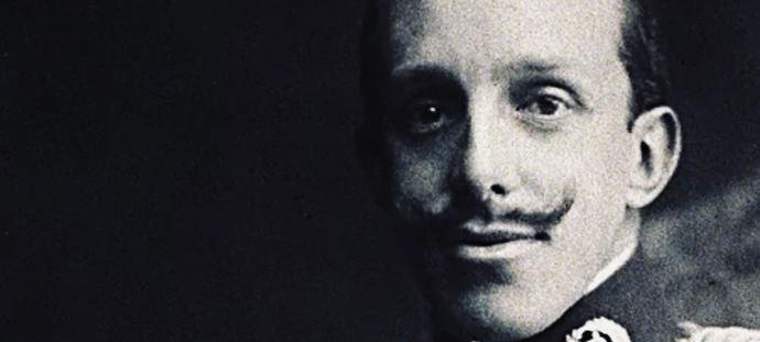 Alfonso XIII en Londres en 1932.