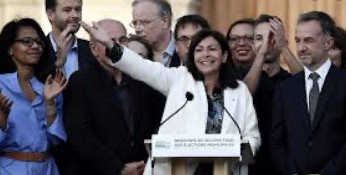 Ana Hidalgo, alcaldesa de París.