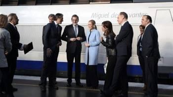 25 años del primer trayecto del AVE Madrid-Sevilla