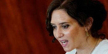 Isabel Díaz Ayuso, presidenta de Madrid.