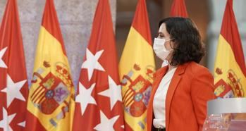 La presidenta madrileña Isabel Díaz Ayuso.