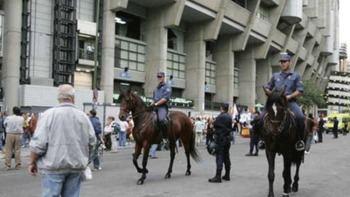 360 efectivos para la seguridad del partido de Champions Madrid-Roma