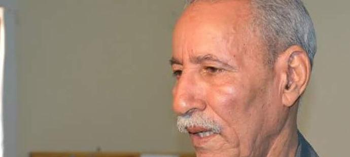 Brahim Galli, jefe del Frente Polisario.