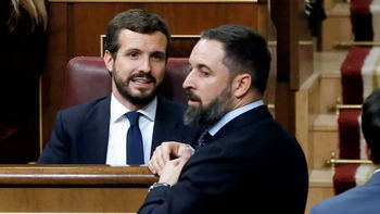Casado y Abascal creen tener a Sánchez en un callejón sin salida