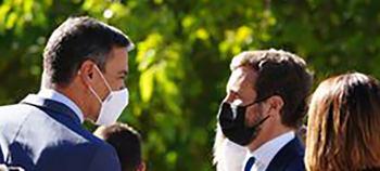 El Pacto de Yuste firma la inestable paz judicial de Sánchez y Casado