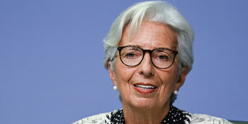 Christine Lagarde, presidenta del Banco Central Europeo.