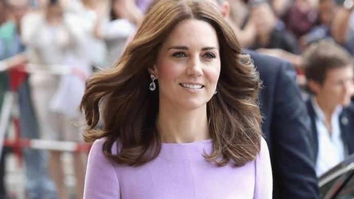 La princesa Catalina embarazada de su tercer hijo