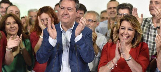 Juan Espadas y Susana Díaz se enfrentarán por la dirección del PSOE andaluz.