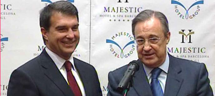 Joan Laporta y Florentino Pérez.