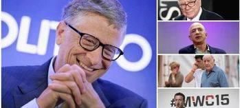 Bill Gates vuelve a ser el más rico del mundo en 2017, según 'Forbes'
