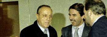 """""""Bocadillo político"""" sobre Felipe de Aznar y Anguita"""