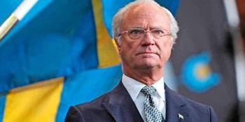El rey Carlos Gustavo de Suecia.