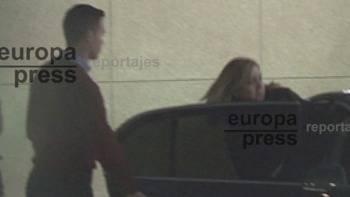 La Infanta llega a Barcelona a la espera de conocer si Urdangarín irá a prisión