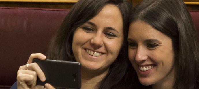 Ione Belarra e Irene Montero.