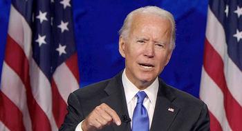 El candidato demócrata norteamericano Joe Biden.