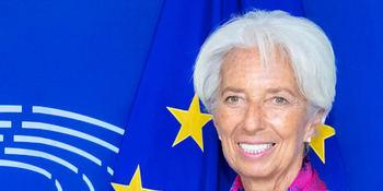 Christine Lagarde, directora del Banco Central Europeo.