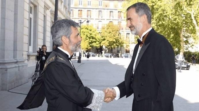 El presidente del CGPJ: 'Nadie sufrira por cumplir la ley' ante el desafío independentista