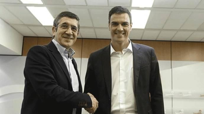 Sánchez ofrece a López integrarse en su candidatura y el exlehendankari dice no
