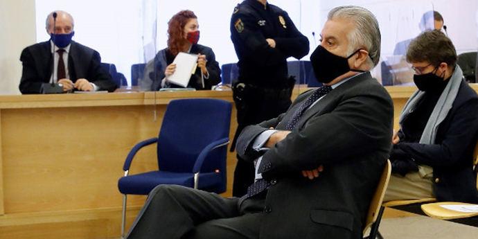 Luis Bárcenas en la Audiencia Nacional.