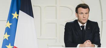 Emmanuel Macron, presidente francés…