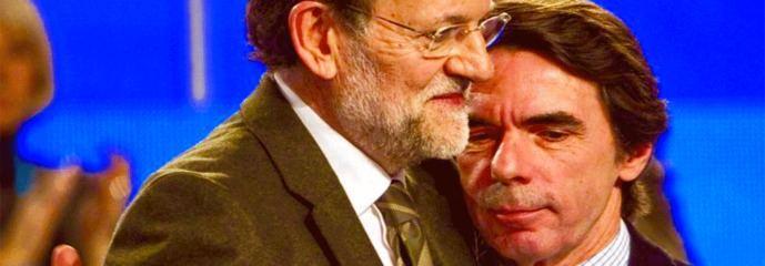 Con el miedo a Vox Casado consigue unir a Rajoy y Aznar
