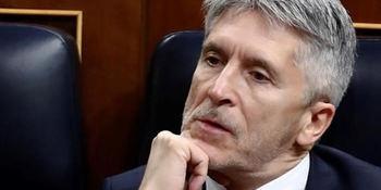 El ministro Fernando Grande-Marlaska.