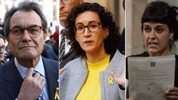 El juez imputa por un delito de rebelión a Artur Mas, Marta Rovira y Anna Gabriel