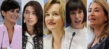 Las nuevas ministras no dan la talla, por ahora