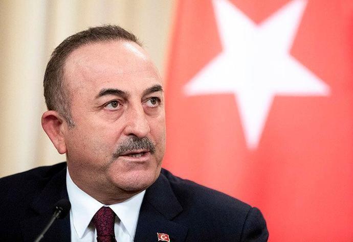 El ministro de Asuntos Exteriores de Turquía, Mevlut Cavusoglu.