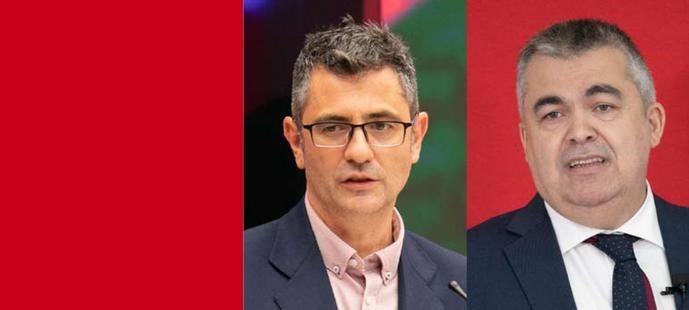 Félix Bolaños y Santos Cerdán.