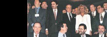 Los once de Fraga que derrotaron al PSOE de Felipe