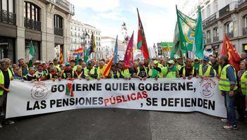 Los pensionistas reclaman una auditoria de la Seguridad Social