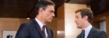 Sánchez y Casado: la Ley D´Hont no basta, ¡a cambiar la Constitución!