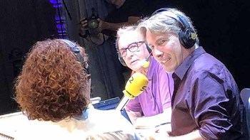 Javier del Pino y Juanjo Millas en 'A vivir que son dos días'.