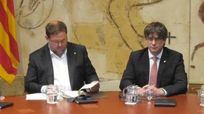 El `habemus´catalán: Puigdemont fija el referéndum para el domingo 1 de octubre