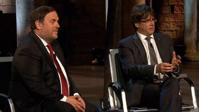 Puigdemont prevé firmar la convocatoria de referéndum a principios de septiembre