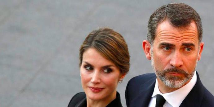 La reina Letizia y el rey Felipe VI: